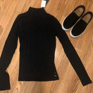 Robbed Mock Neck NWT